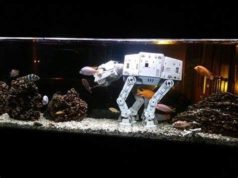 fish tank decorations star wars star wars fish tank