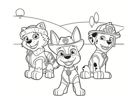 coloriage pat patrouille  dessins  imprimer