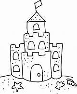 Clipart Coloring Dentist Castle Sand Cute Transparent Webstockreview sketch template