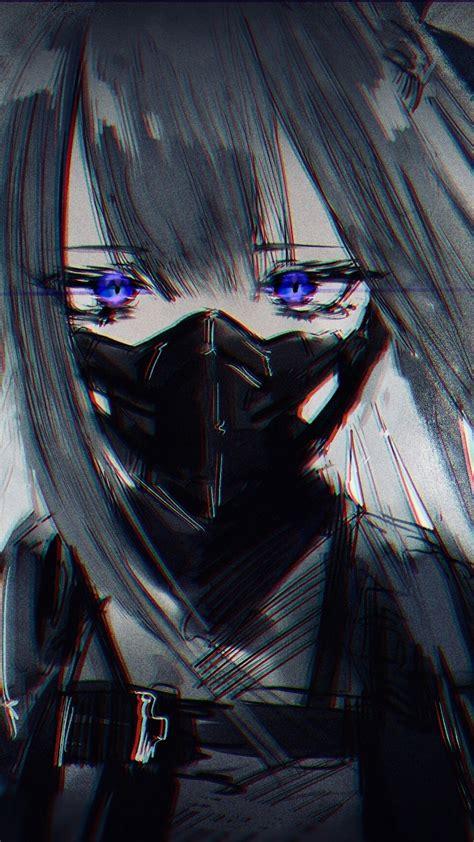 Download 1080x1920 Girls Frontline Ak 12 Mask Sad Face