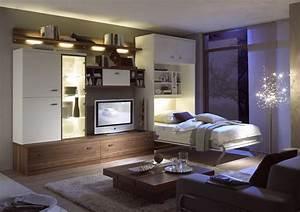 Bett Im Wohnzimmer : schrankbett schrankbetten klappbett klappbetten ~ Lizthompson.info Haus und Dekorationen
