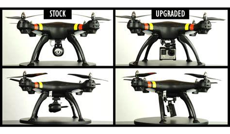 syma  camera upgrade  chrome drones