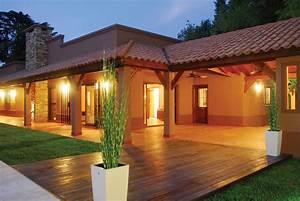 Perretta & Ocampo Arquitectura - Casa estilo campo moderno