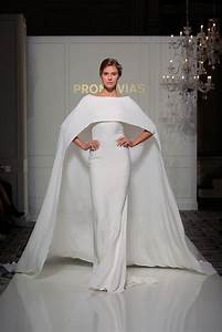 Nontraditional wedding dresses bridal fashion week fall for Fashion wedding dresses