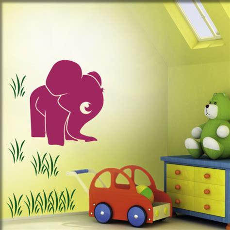Babyzimmer Wandgestaltung Elefant by Kinderzimmer Wandsticker Wandmotive Wandkleber