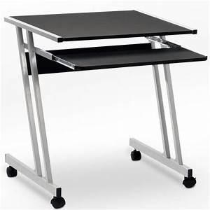 Meuble Bureau Ordinateur : bureau informatique meuble pc ordinateur table tiroir ~ Nature-et-papiers.com Idées de Décoration