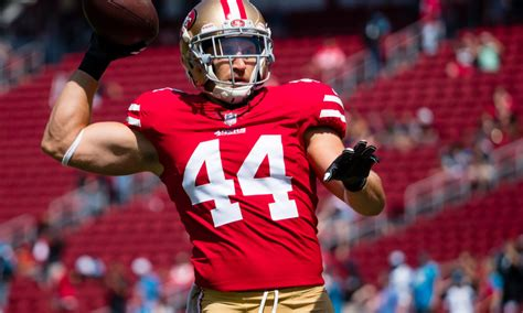 ers injury report kyle juszczyk misses  straight