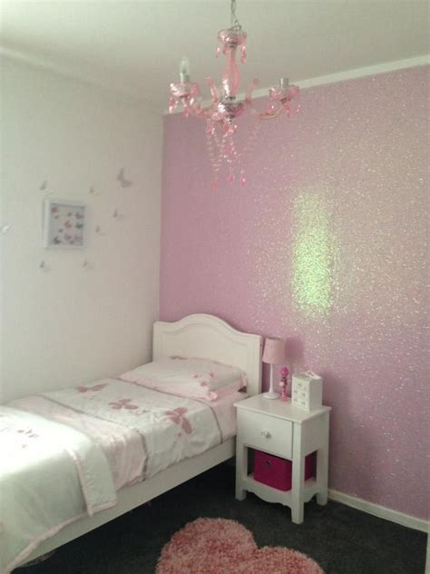 pink walls bedroom coconut glitter wallcovering available at 12894