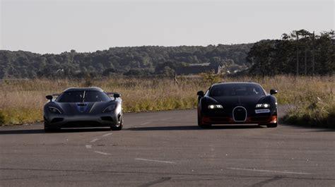 1200 Hp Bugatti Veyron Vitesse Vs Koenigsegg Agera R X 4