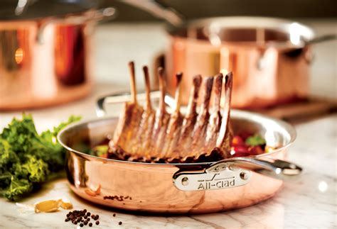 clad  copper saute pan  quart cutlery