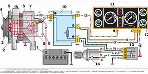 The Scheme Of Connection Of The Generator Vaz