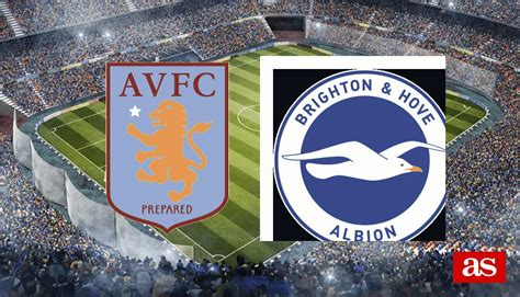 Aston Villa vs Brighton: previous stats