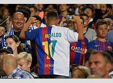 The worst football shirt of all time spotted at El Clasico