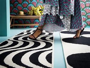 Tapis Ikea Noir Et Blanc : ikea la nouvelle collection d co tillf lle ~ Teatrodelosmanantiales.com Idées de Décoration