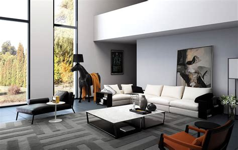 modern living room interior design ideas with freetown collection by camerich 171 united states