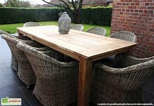 Table Bois Jardin : table rabattable cuisine paris table de jardin bois ~ Edinachiropracticcenter.com Idées de Décoration