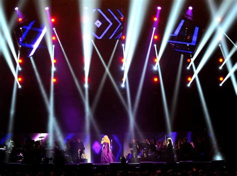 Il Divo Tour Schedule by Dazzling Light Show Katherine Jenkins And Il Divo Live