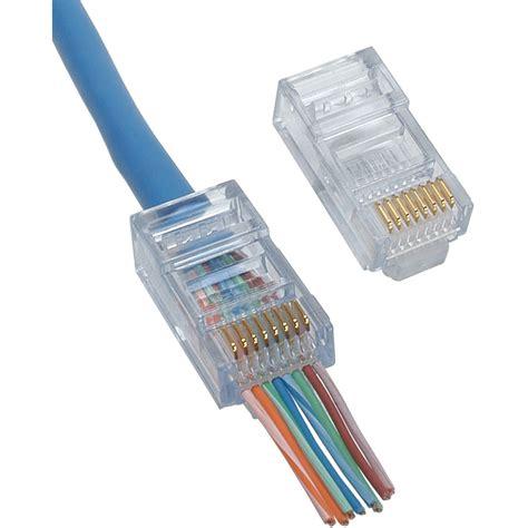 platinum tools ez rj cat  connector  pcs