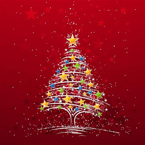 wallpapers  apple ipad starry xmas tree