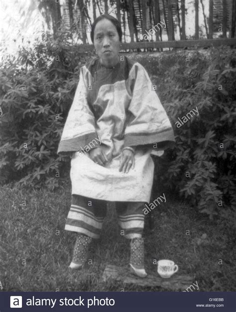Entitled A Small Footed Chinese Lady 1905 Foot