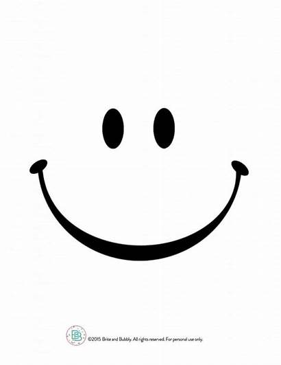 Smiley Face Template Pumpkin Printable Cut Stick