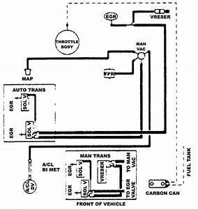 1990 Ford Bronco Vacuum Diagram