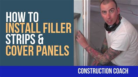 How To Install Cabinet Filler by How To Install Filler Strips Cover Panels Diy