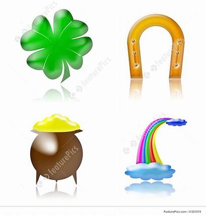 Luck Charm Lucky Charms Clipart Symbols Icons