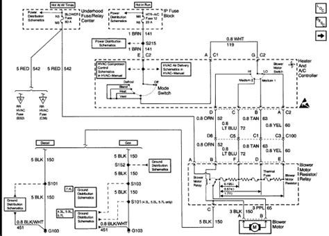 wiring diagram   blower motor