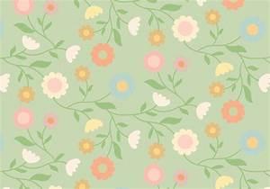 Vintage Floral Pattern - Download Free Vector Art, Stock ...