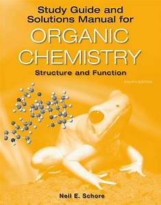 Study Guide  Solutions Manual For Organic Chemistry Ebook