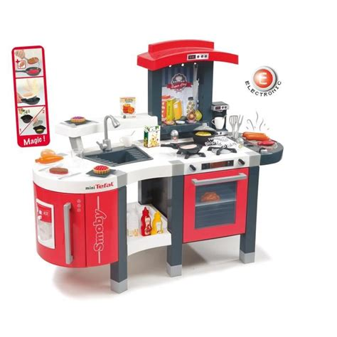 cuisine smoby hello smoby cuisine chef mini tefal achat vente