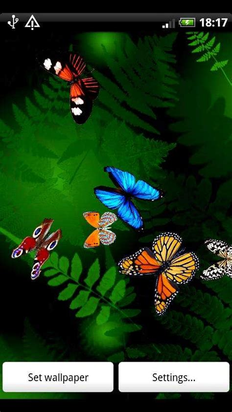 live wallpaper for android butterfly live wallpaper v1 3 for android jimz freebies