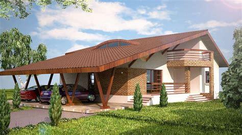 proiecte de case mici pe  singur nivel case practice