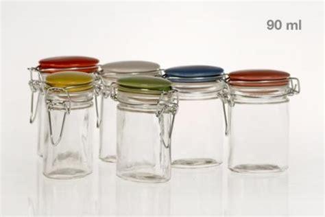 grossiste pot en verre lot de 6 bocaux verrines en verre conservation neuf