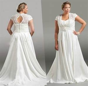 wedding dress with sleeves plus size pluslookeu collection With plus size dresses to wear to a wedding with sleeves