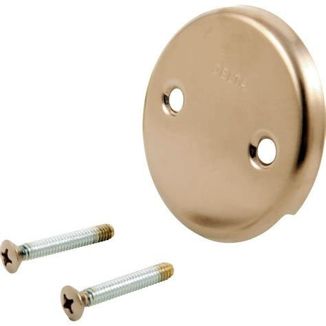 delta classic collection overflow plate screws in