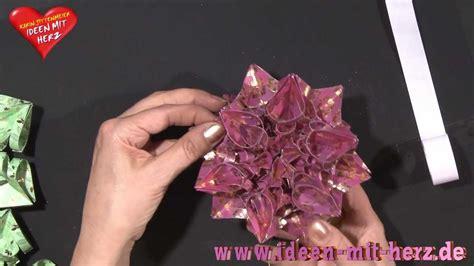 Ideen Mit Herz  Origami Stern  Kristallstern Youtube