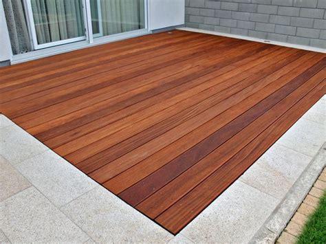 Holzterrasse Mit Steinumrandung by Die Besten 25 Terrassendielen Ideen Auf Holz
