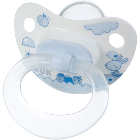 chambre sauthon bleu lot de 2 sucettes bébé silicone taille 2 bleu de nuk chez