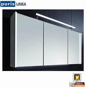 Spiegelschrank 100 Cm Led : puris linea led spiegelschrank 100 cm s2a431079 impuls home ~ Bigdaddyawards.com Haus und Dekorationen