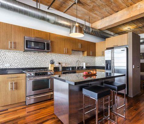 Even a slight shade darker or lighter will create a wonderful effect. 19 Ideas Kitchen Design Loft High Ceilings | Trendy ...