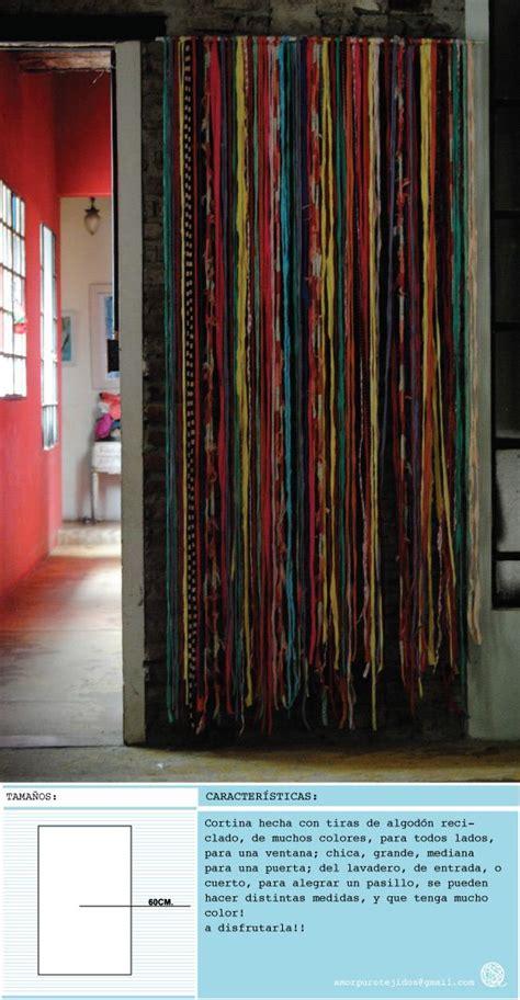 cortina hecha con material reciclado cortinas tejidos and navidad