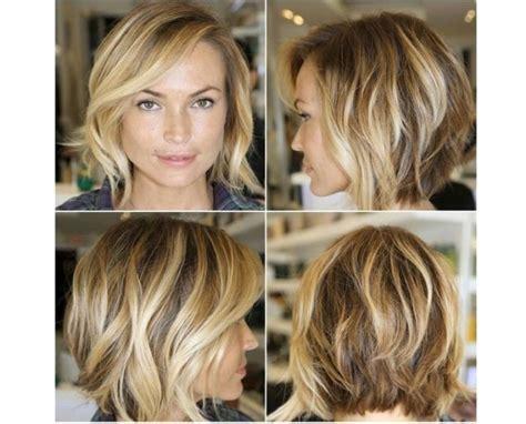 Cieniowany krótki bob   najlepsza fryzura na lato!
