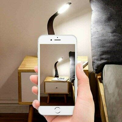 led dimmable read table desk bedside bedroom touch
