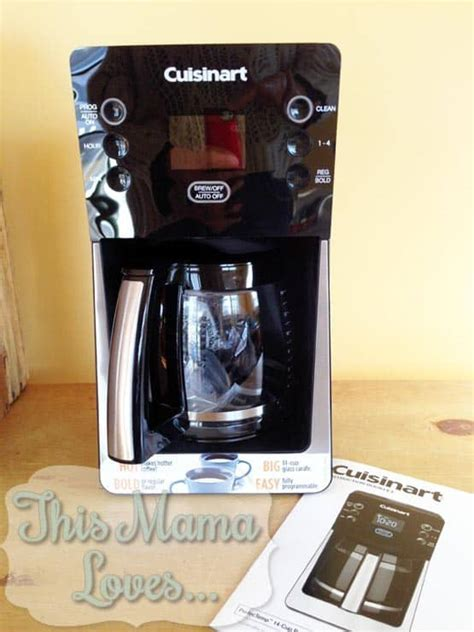 I like my coffee strong and use about 1 cup per 10 cups of water.you may want to adjust to your tastes. Cuisinart Perfec Temp® 14-Cup Coffeemaker Great for Hosting   This Mama Loves