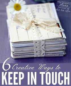 6 creative ways to keep in touch pinterest creative With box to keep letters in