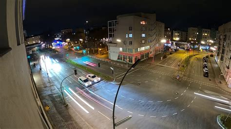 gopro hero black night lapse roads berlin germany