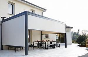 Pergola Toit Coulissant : pergola alu toit rigide ~ Melissatoandfro.com Idées de Décoration