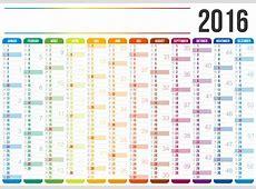 Kalender 2016 Kalender für das Jahr 2016